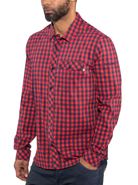 Schöffel Miesbach2 Langærmet T-shirt Herrer pink